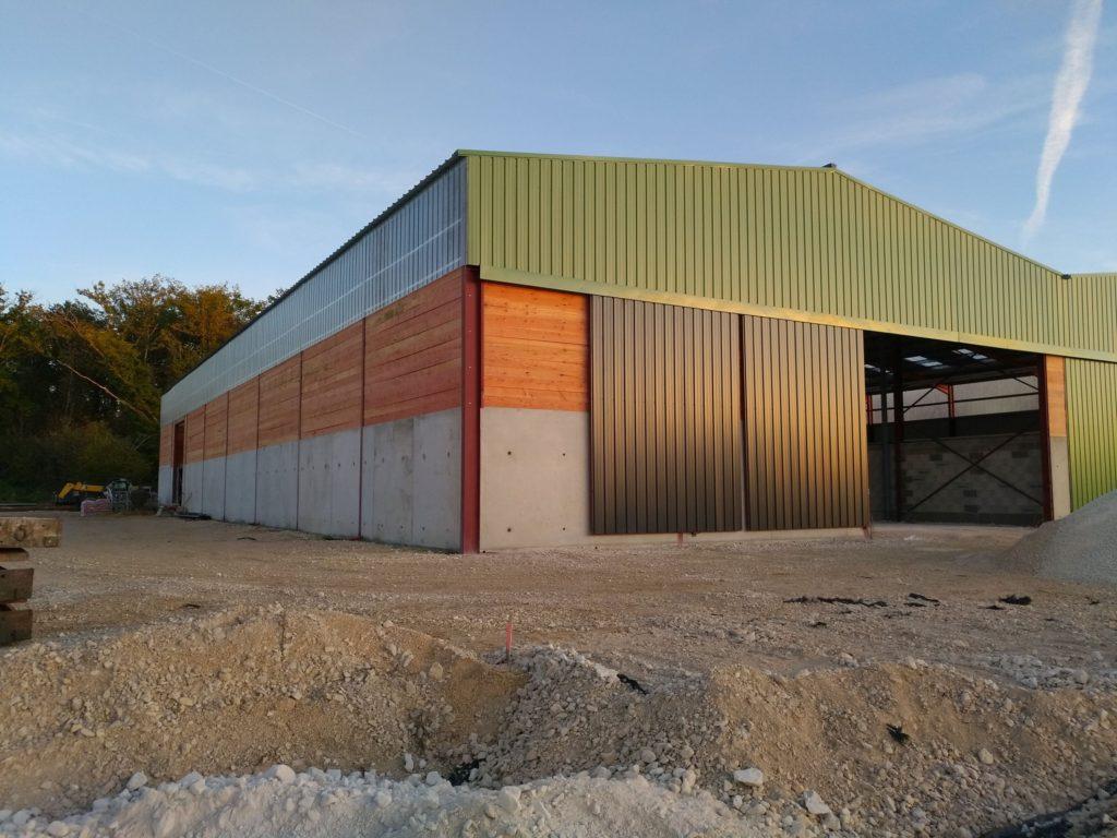 Construction Hangar Bois Prix cmk - spécialiste de la charpente métallique en kit